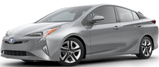 2018 Toyota Prius Classic Silver Metallic