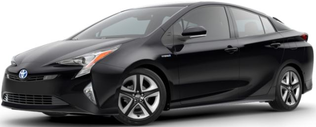 2018 Toyota Prius Midnight Black Metallic