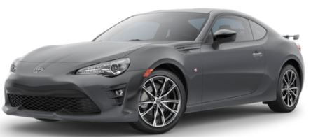 2018 Toyota 86 Exterior Color Choices