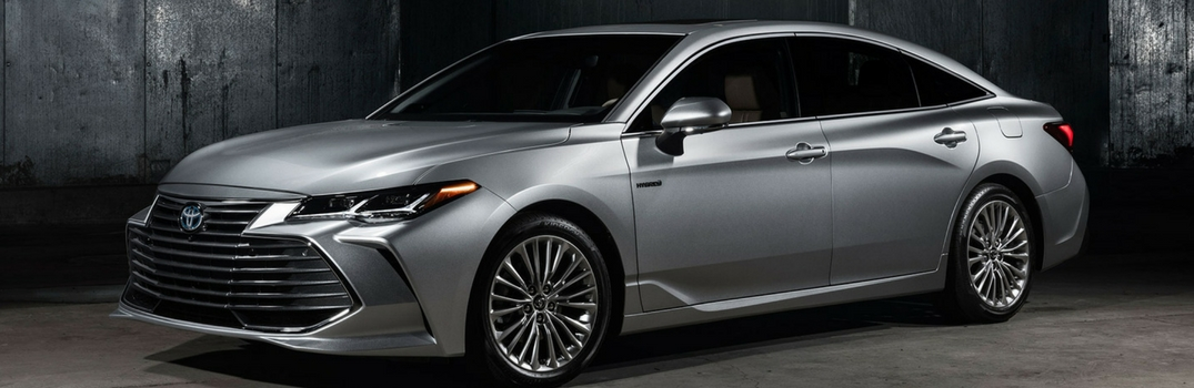 2019 Toyota Avalon parked in gray.