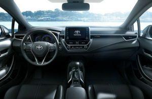 2019 Toyota Corolla Hatchback Interior Dash O Lexington Toyota