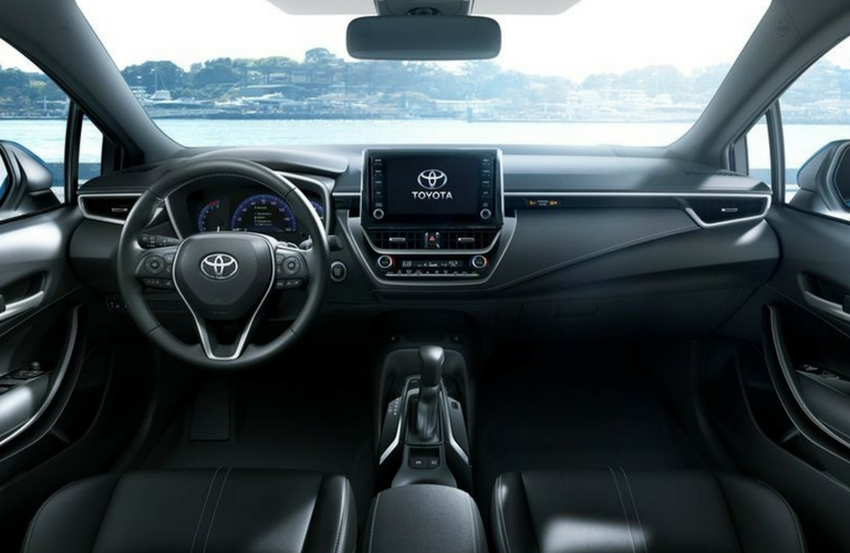 2019-Toyota-Corolla-Hatchback-interior-dash_o - Lexington ...
