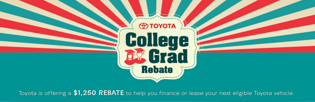 Recent College Graduates can get great deals at Lexington Toyota!