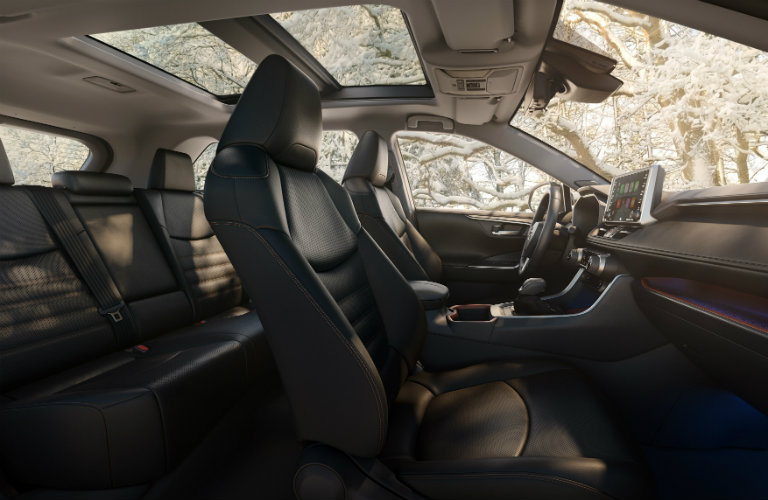 2019 Toyota RAV4 seat side view