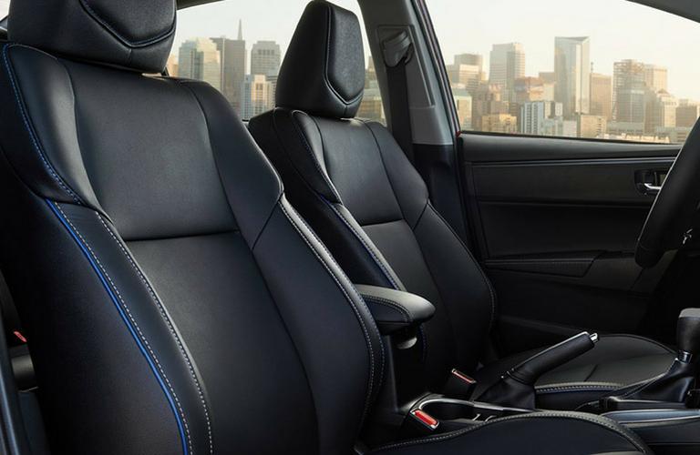 2019 Toyota Corolla seat view