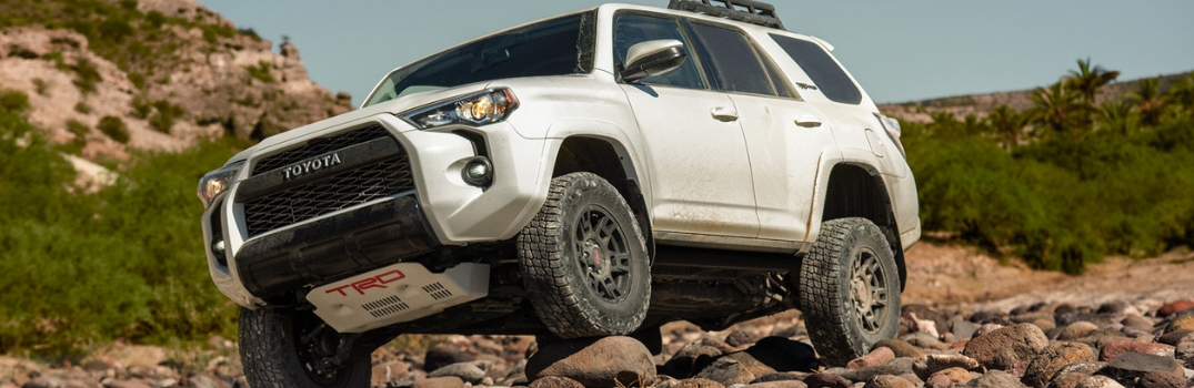 2019 Toyota 4Runner driving on dirt