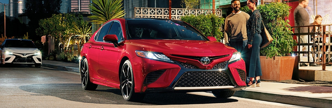 What is the Fuel Economy of the 2019 Toyota Camry?