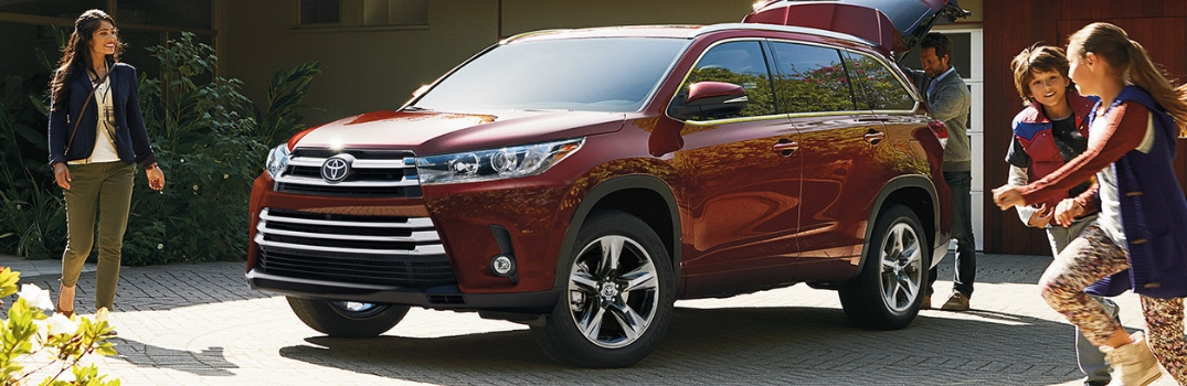 2019 Toyota Highlander Interior Cargo Space