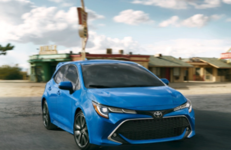 2019 Toyota Corolla parked outside