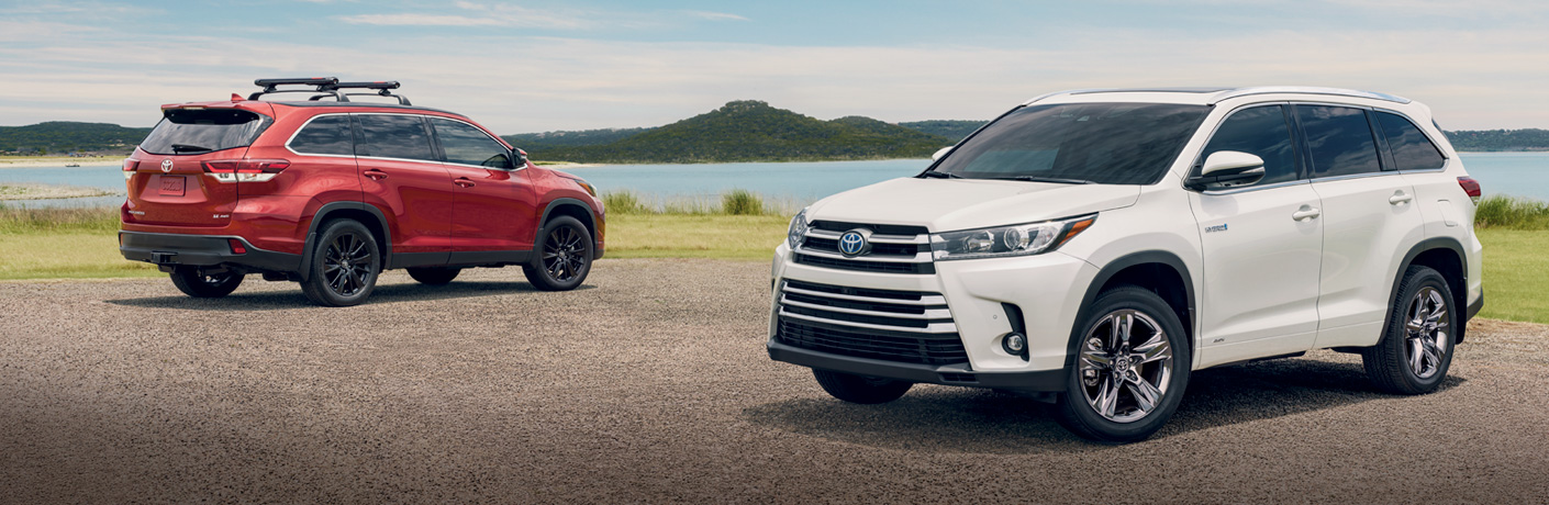 2019 Toyota Highlander Trim Level Options