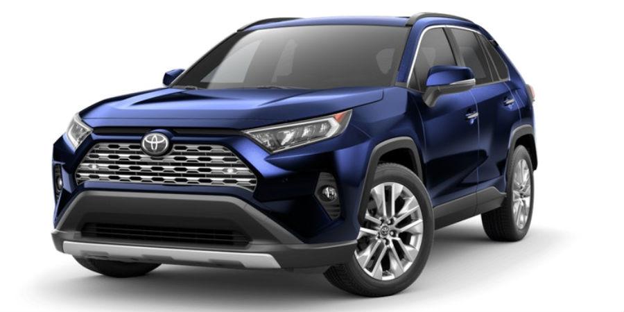 2019 Toyota RAV4 Paint Color Options - Lexington Toyota