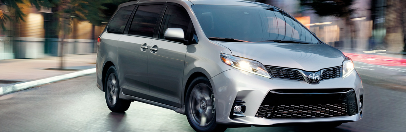 2019 Toyota Sienna Safety Features