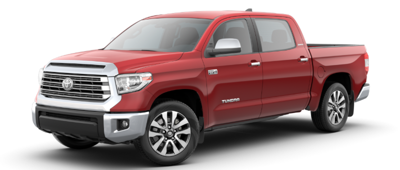2020 Toyota Tundra in Barcelona Red