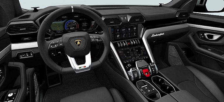 lamborghini urus with bang olufsen sound system o. Black Bedroom Furniture Sets. Home Design Ideas