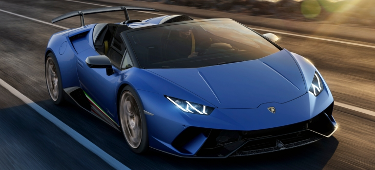 Are convertible Lamborghini models hardtops or soft tops?