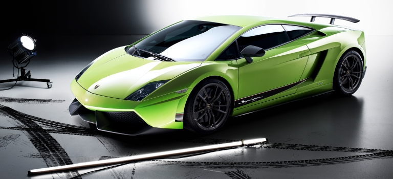 Lamborghini,Gallardo,LP,570,4,Superleggera,green,side,view_o