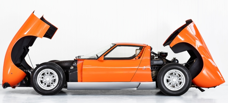 What Happened To The Lamborghini Miura Used In The Italian Job