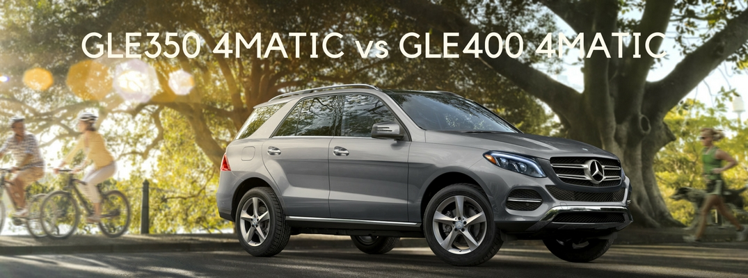 2017 mercedes benz gle350 4matic vs gle400 4matic for Mercedes benz service coupons 2017