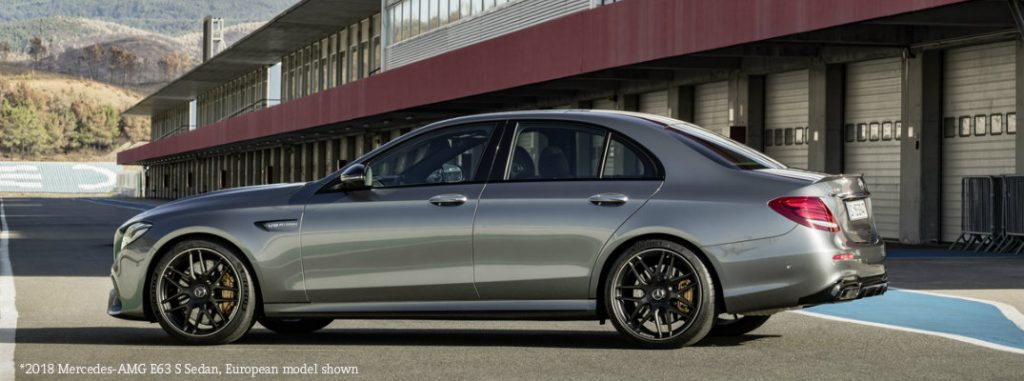 New features in 2018 Mercedes-AMG E 63
