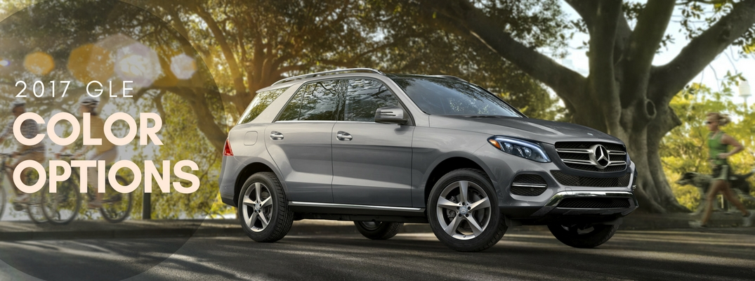 2017 mercedes benz gle color options for Mercedes benz options
