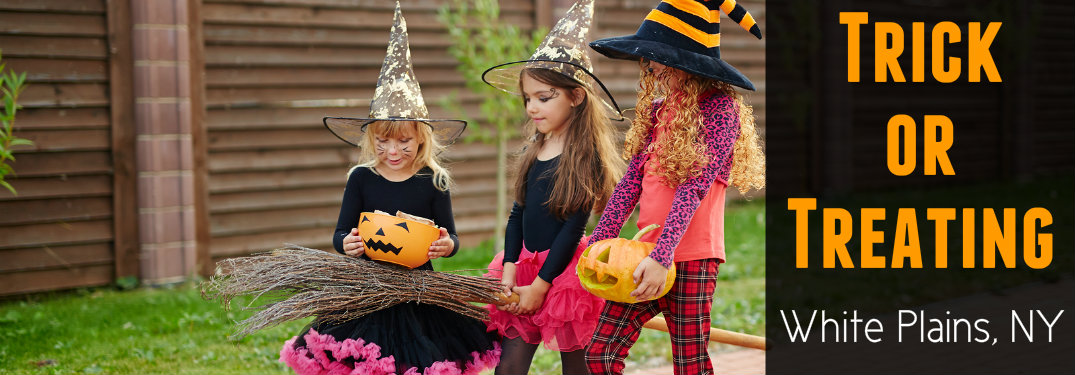 Trick or treating times for Westchester NY 2017