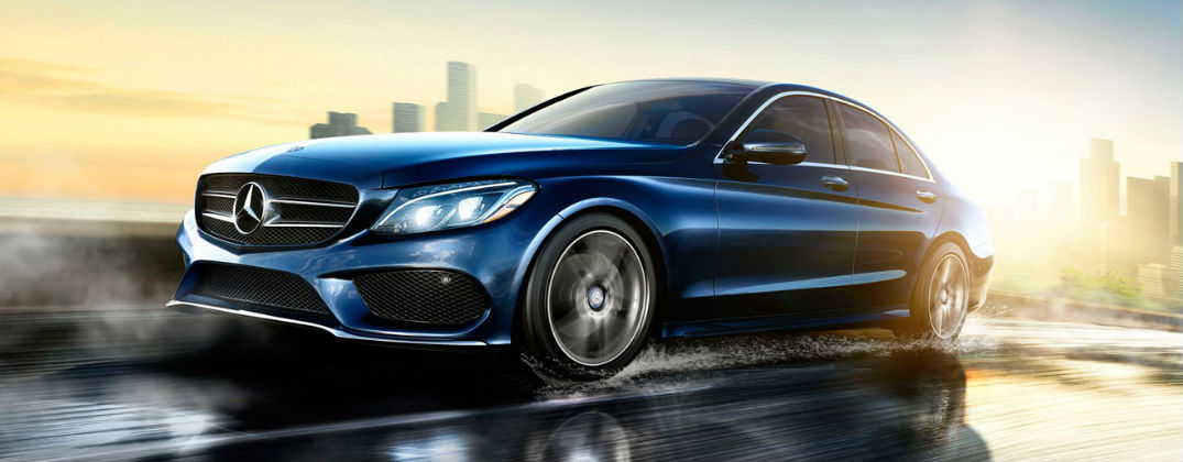 What is new for the 2017 mercedes benz c class c300 for James mercedes benz lexington ky