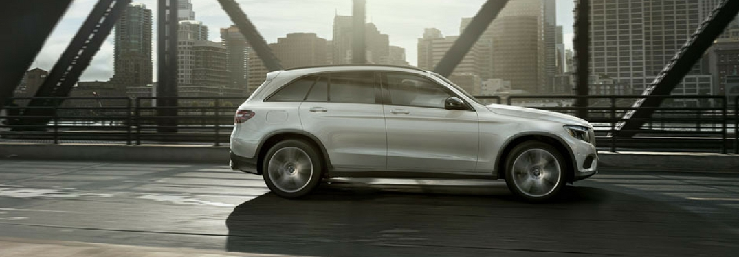 How much room is there in the 2018 mercedes benz glc for How much is service b for mercedes benz