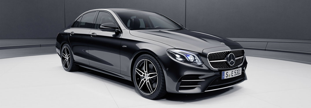 2018 MB AMG E 63 S sedan exterior profile
