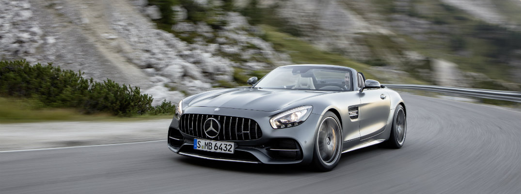 all-new 2018 Mercedes-AMG GT C Roadster video brochure