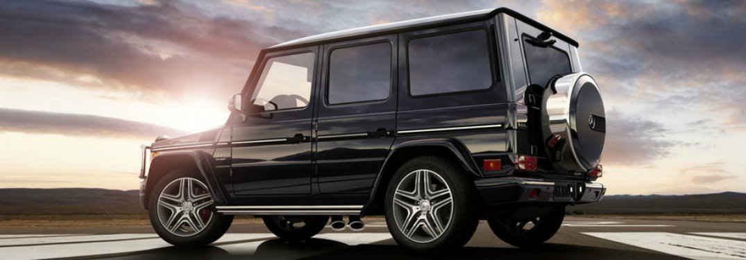 What colors does the Mercedes-Benz G-Class come in