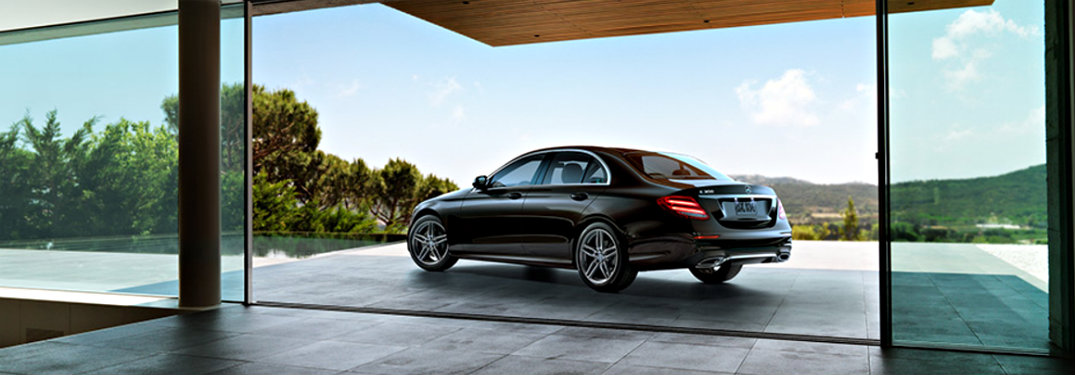 2018 Mercedes-Benz E-Class sedan standard features and specifications
