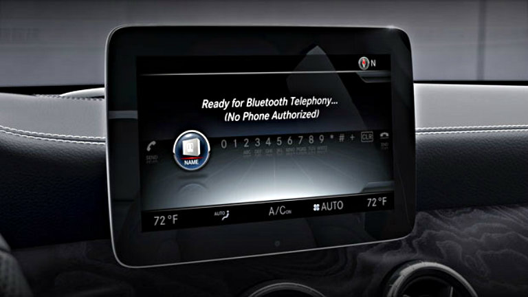 2018 mercedes benz cla standard technology features for Mercedes benz wifi hotspot