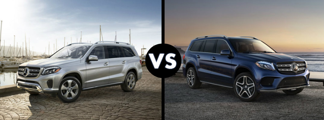 2017 mercedes benz gls 450 vs gls 550 for 2017 mercedes benz gls 450
