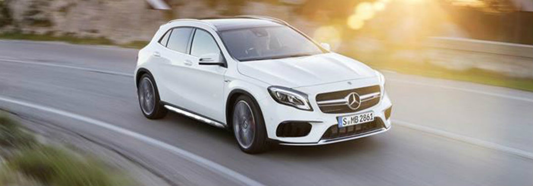 2018 mercedes benz gla color options for Mercedes benz options