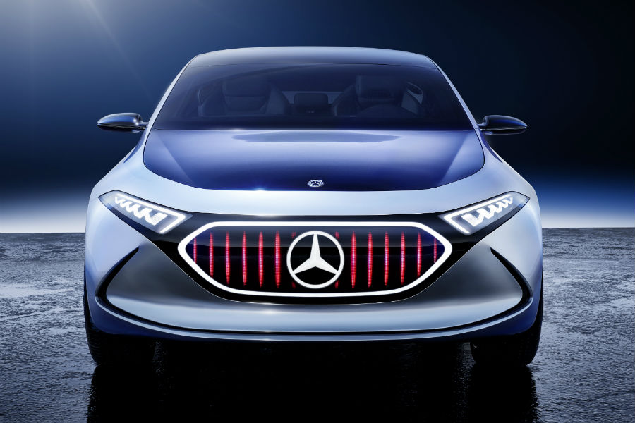 Mercedes-Benz Concept EQA Sport Plus Grille Change Virtual_o & Silver Star Motors