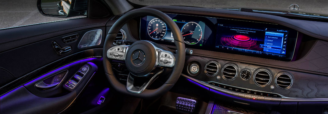 tech features in the 2018 mercedes-benz s-class | silver star motors