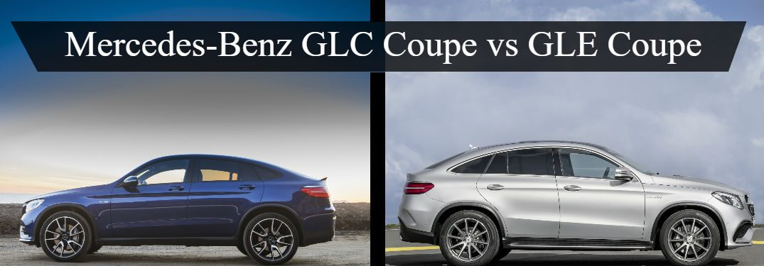 Mercedes Benz Glc Coupe Vs Gle Coupe Silver Star Motors