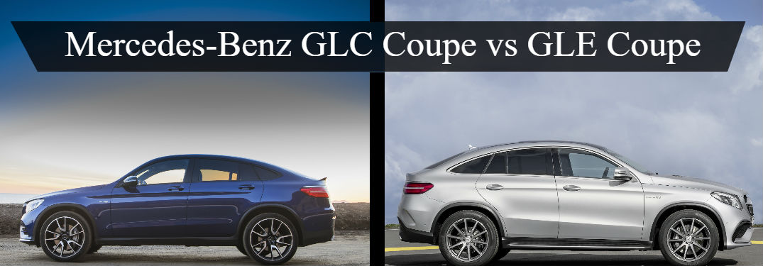 mercedes benz glc coupe vs gle coupe silver star motors. Black Bedroom Furniture Sets. Home Design Ideas