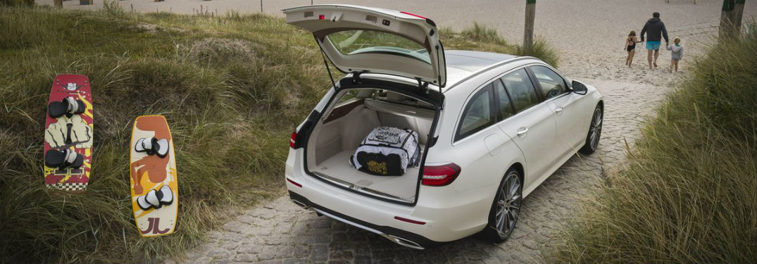 How Much Space Is In The 2018 Mercedes Benz E Class Wagon?