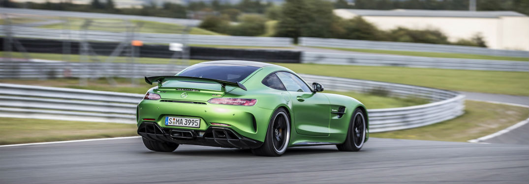 ... 2018 Mercedes Benz Amg Gt R Shown On Track Near Queens Ny In Stunning  Green