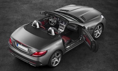 2017 Mercedes Benz Slc Roadster Fur Showroom O Silver Star Motors