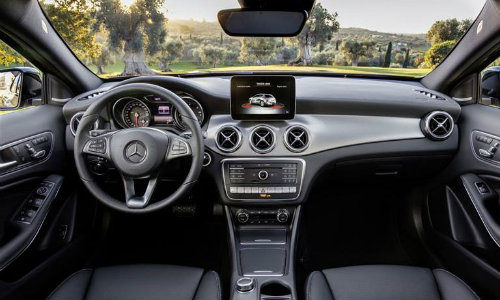 2018 Mercedes Benz Gla Compact Luxury Suv Interior Dashboard O