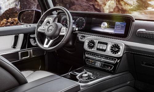 2019 Mercedes Benz G Class Suv Interior Dashboard O Silver Star Motors