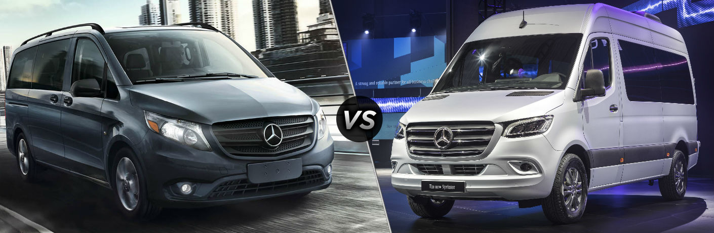 2018 Mercedes-Benz Metris vs 2018 Mercedes-Benz Sprinter