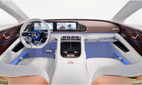 vision mercedes maybach ultimate luxury interior front
