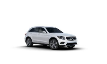 2018 Mercedes Benz Glc 350e 4matic Suv Polar White O Silver Star