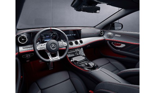 2019-Mercedes-AMG-E53-sedan-interior-front-seating-upholstery-and ...
