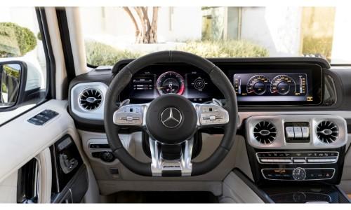 Mercedes Dealership Long Island >> 2019-Mercedes-AMG-G-63-interior-steering-wheel-dashboard-and-transmission_o - Silver Star Motors