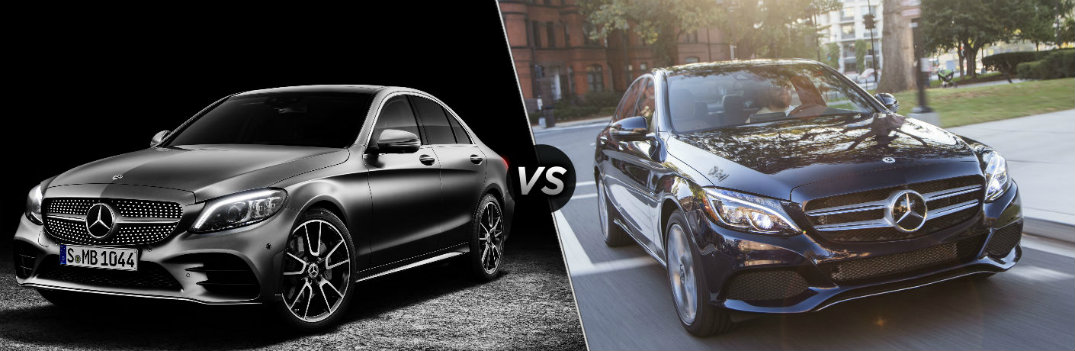 2019 mercedes benz c class vs 2018 mercedes benz c class. Black Bedroom Furniture Sets. Home Design Ideas