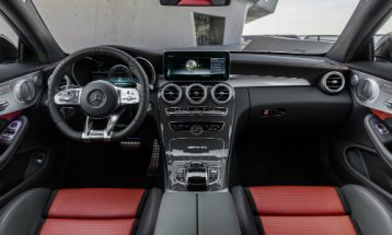 2019 Mercedes Benz Mercedes Amg C 63 S Coupe Interior Front Seating